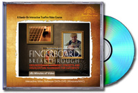 Howard Morgen's Fingerboard Breakthrough video and book cover